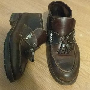 Cole haan country 7.5 brown leather boots